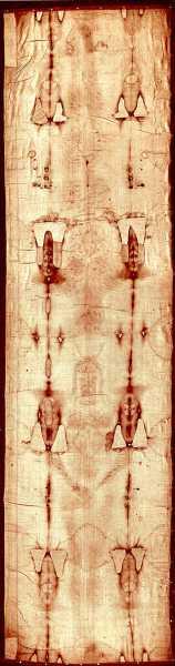Πλήρης άποψη της Ιεράς Σινδόνης