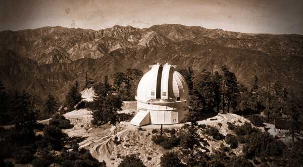 Το Αστεροσκοπείο του όρους Wilson, στην Καλιφόρνια