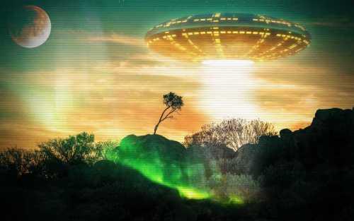 Οι ιπτάμενοι δίσκοι προέρχονται από άλλους πλανήτες...