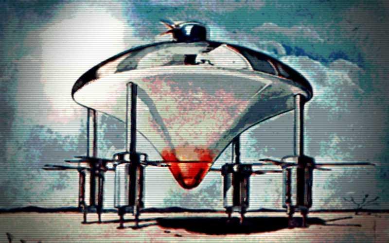 Το διαστημόπλοιο που είδε ο προφήτης Ιεζεκιήλ...