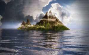 Το μυστηριώδες νησί του Ειρηνικού…