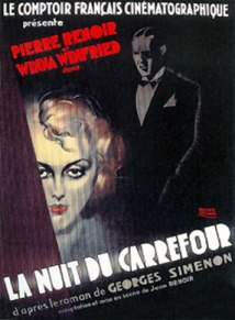 La Nuit du Carrefour (1931) movie poster