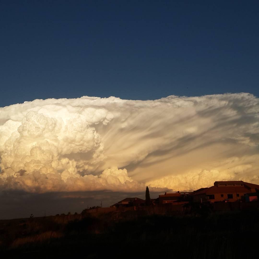 Powerful Cumulonimbus Cloud Appears In The Sky Of South