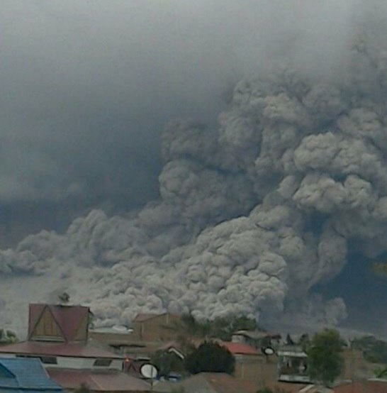 sinabung, volcanic eruption, november 2016