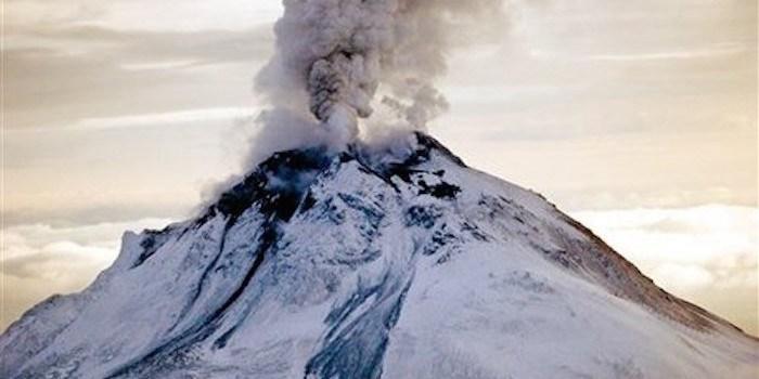 The Cleveland volcano in Alaska erupted on September 25 2017, cleveland volcano eruption september 25 2017, cleveland volcano eruption september 25 photo, cleveland volcano eruption september 25 video