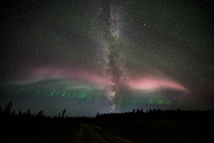 Northern Lights Alberta 2017