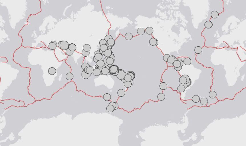 major earthquakes dramatic increase, major earthquakes dramatic increase map, major earthquakes dramatic increase 2000%