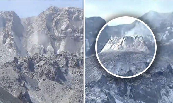 Mount st helens volcano eruption dome swell usgs, Mount st helens volcano eruption dome swell usgs video, Mount st helens volcano eruption dome swell usgs volcanic unrest 2019