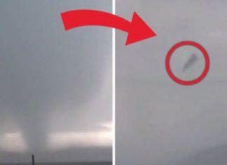 close-range tornado lofts COWS into the air in Cheyenne, Wyoming