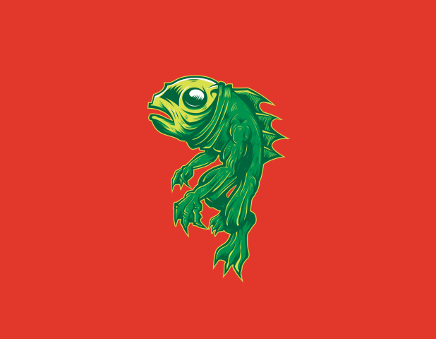 creature from some lagoon