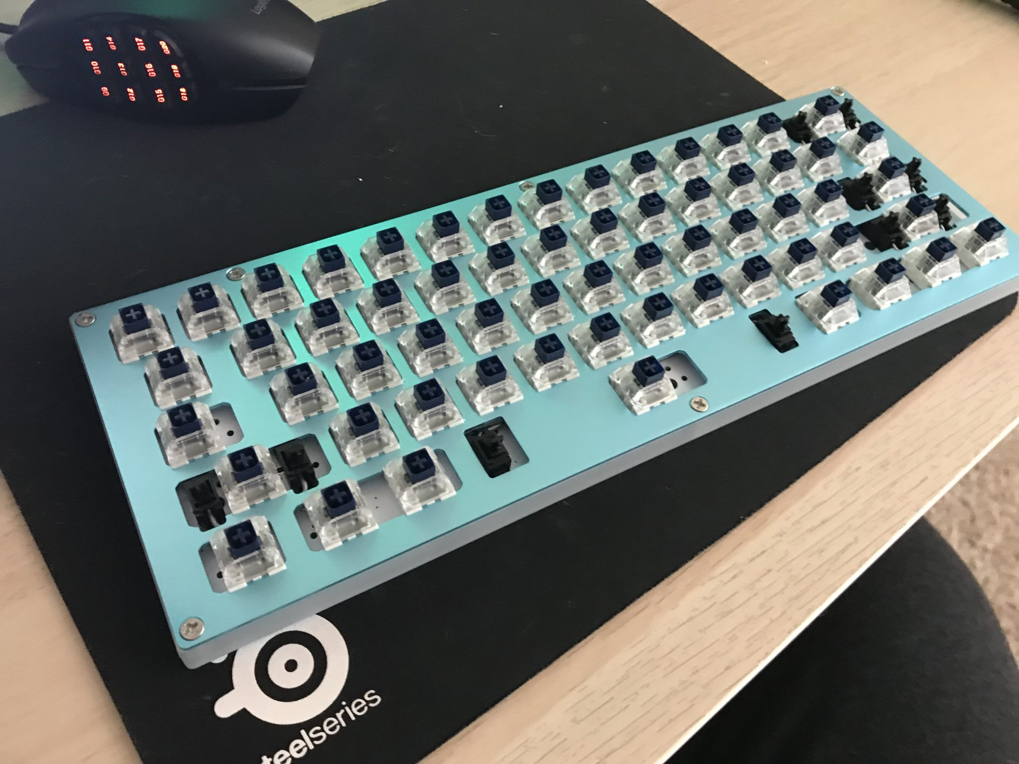 Sentraq S60-X Build Log – Strangetown Funk