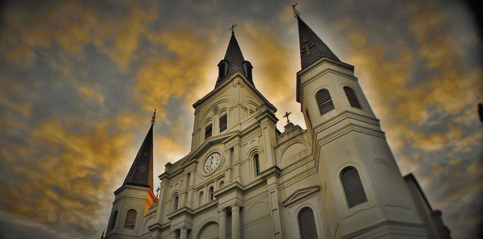 St Louis Cathedral in the afternoon