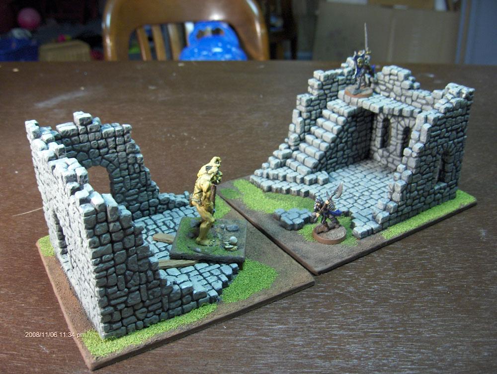 Fieldstone Ruins pair