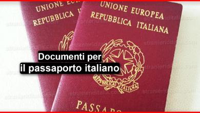 Documenti per il passaporto italiano 2019