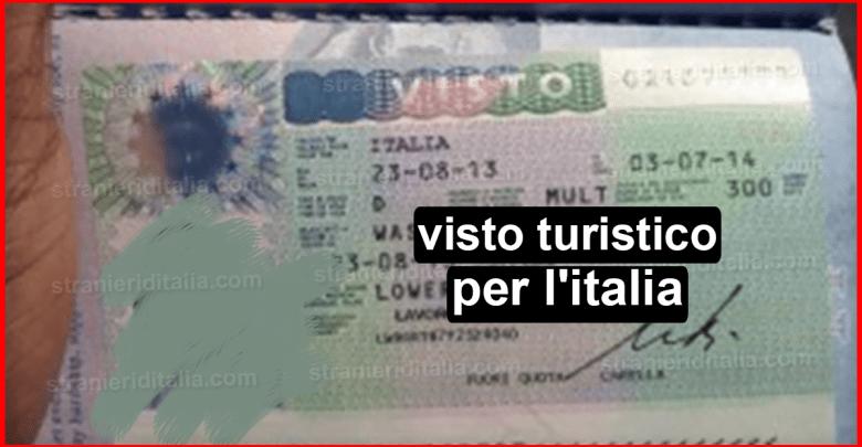 Il visto turistico per l'italia (guida breve)