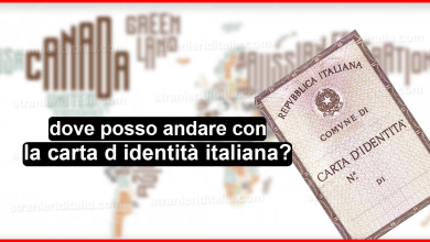 Photo of dove posso andare con la carta d identità italiana?