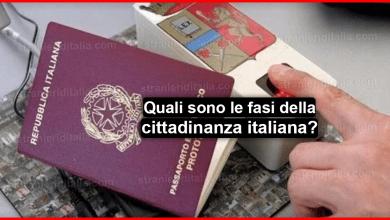 Quali sono le fasi della cittadinanza italiana e cosa significano ?