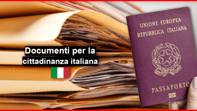 Documenti per la cittadinanza italiana 2019