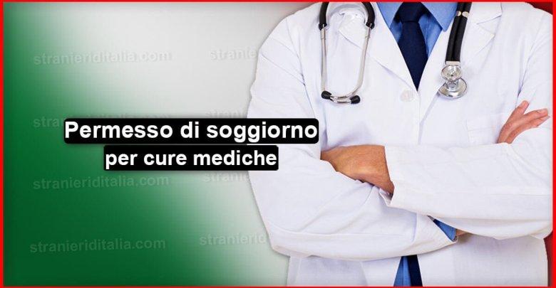Il permesso di soggiorno per cure mediche