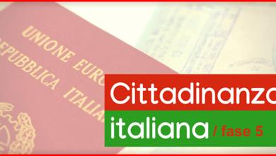 Photo of Procedura cittadinanza italiana alla fase 5: cosa significa?