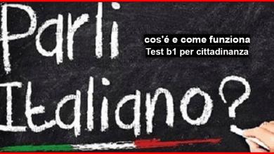 Photo of livello b1 italiano per cittadinanza : cos'é e come funziona?