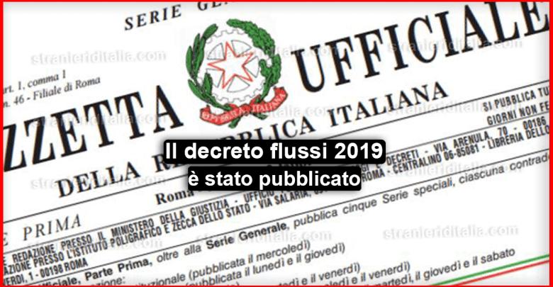 Photo of Il decreto flussi 2019: il 16 aprile partono le domande !
