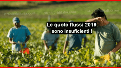 Le quote flussi 2019 sono insuficienti