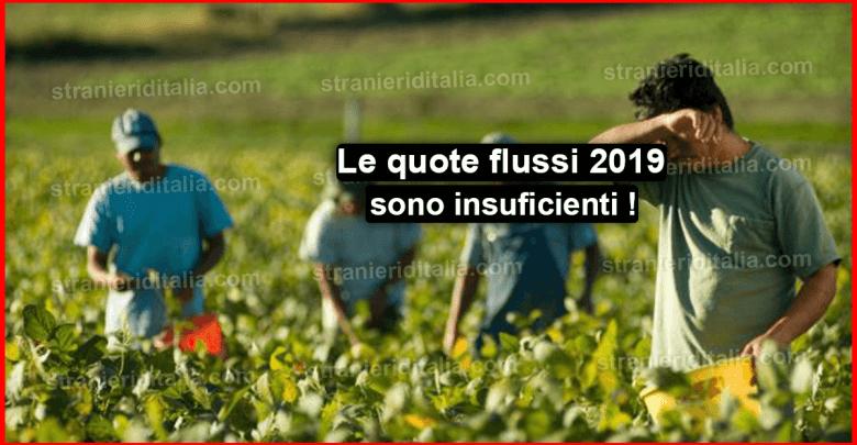 Photo of Le quote flussi 2019 sono insuficienti   Aggiornamenti & Novità