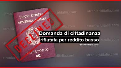 Photo of Domanda di cittadinanza rifiutata per reddito insufficiente: cosa fare?