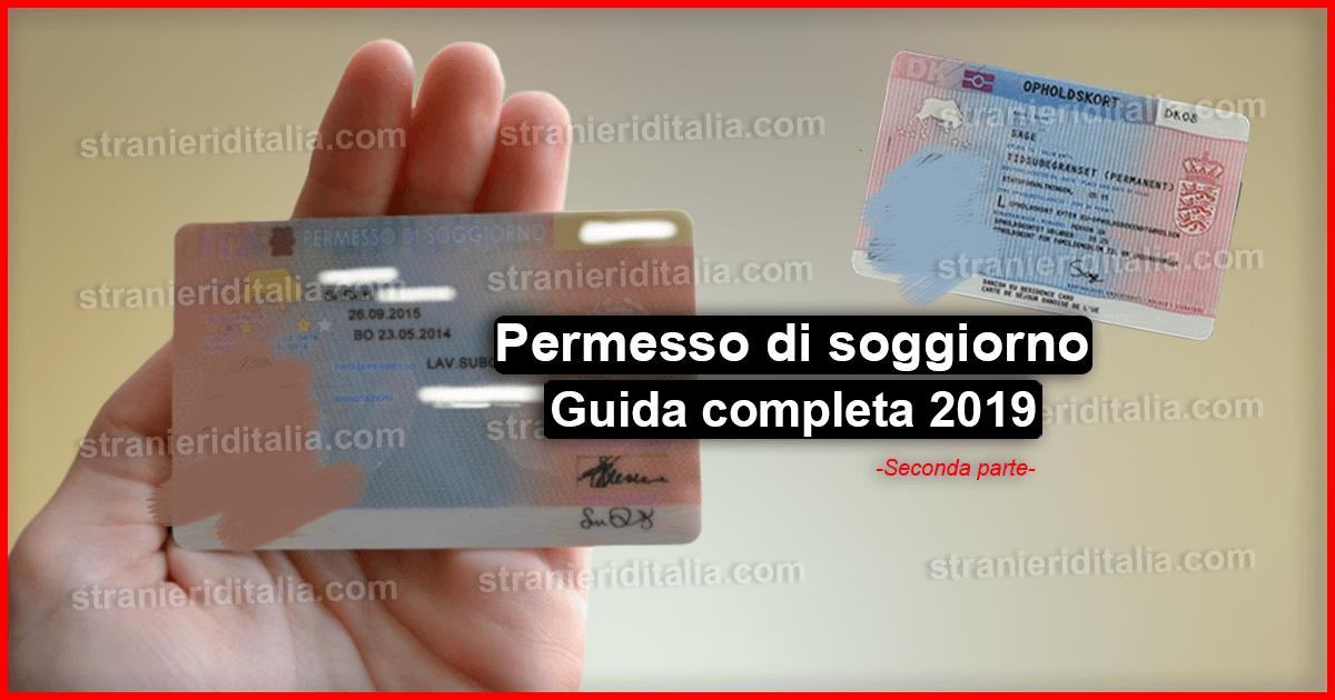 Il permesso di soggiorno 2019 – tutto ciò che devi sapere (Seconda ...