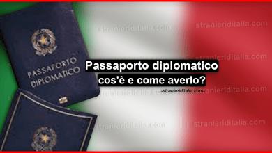 Passaporto diplomatico: cos'è