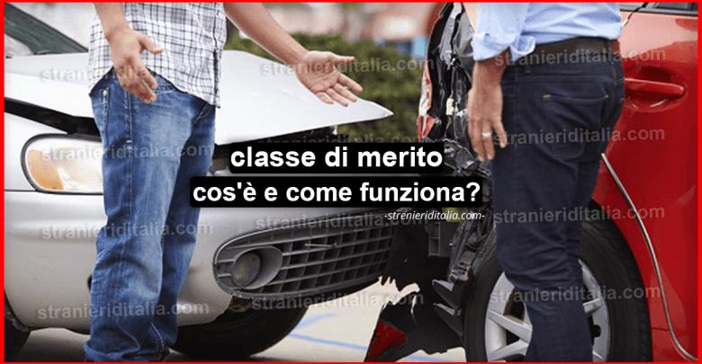 Assicurazione auto, (classe di merito) che cos'è e come funziona?