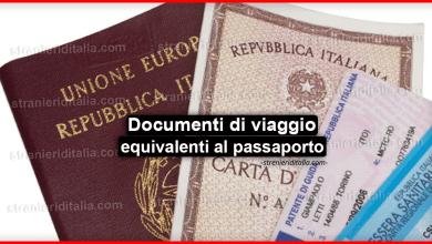 Photo of Documenti di viaggio equivalenti al passaporto : le varie tipologie