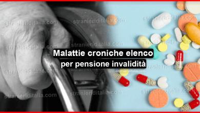 Photo of Malattie croniche: elenco per pensione invalidità