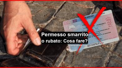 Photo of Permesso di soggiorno smarrito o rubato: Cosa fare in Italia e all'estero?