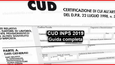 CUD INPS 2019 : Come scaricare il documento dal sito dell'INPS?