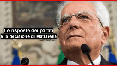 Photo of Consultazioni : Le risposte dei partiti e la decisione di Mattarella