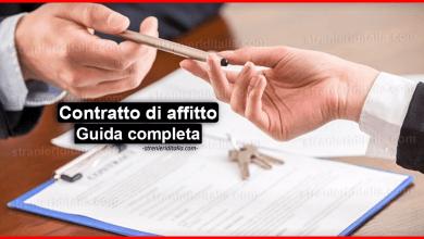 Photo of Contratto di affitto: cos'è, come funziona e le tipologie?