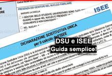Photo of DSU e ISEE: Come compilare la DSU e richiedere l'ISEE?