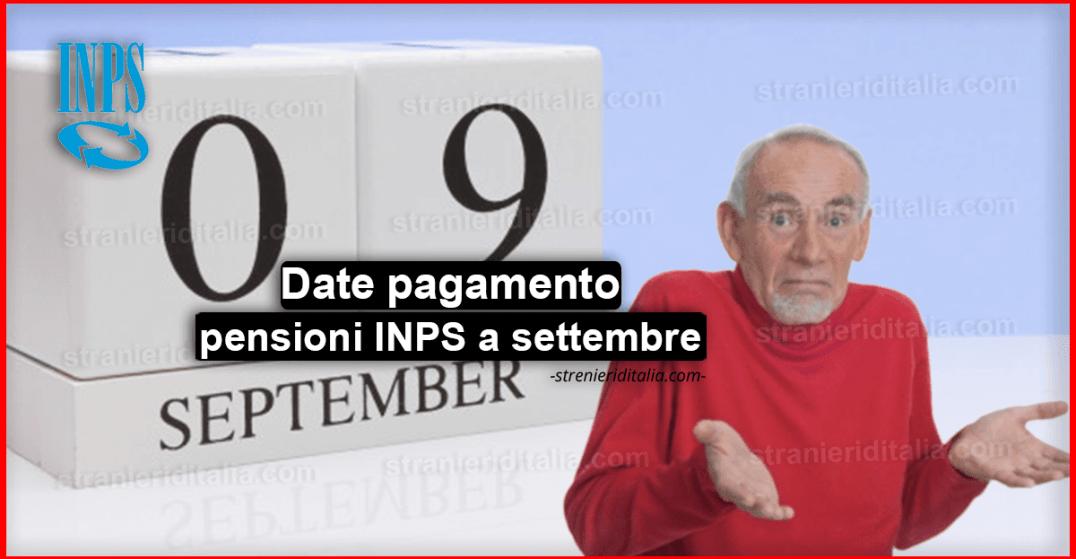 Calendario Pagamento Pensioni Inps.Date Pagamento Pensioni Inps A Settembre E Tipologie Di Pensione
