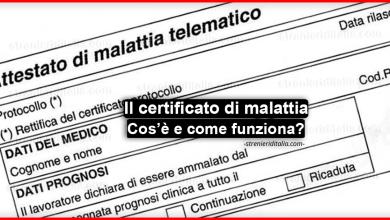 Photo of Il certificato di malattia: cos'è e come funziona? Guida completa!