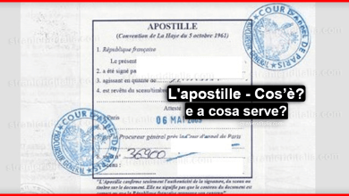 Photo of L'apostille: Di che cosa si tratta, a cosa serve e per cosa è applicato?