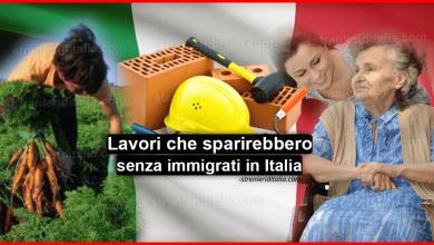 Photo of Lavori che sparirebbero senza immigrati: Colf, Muratori, Braccianti e altri…