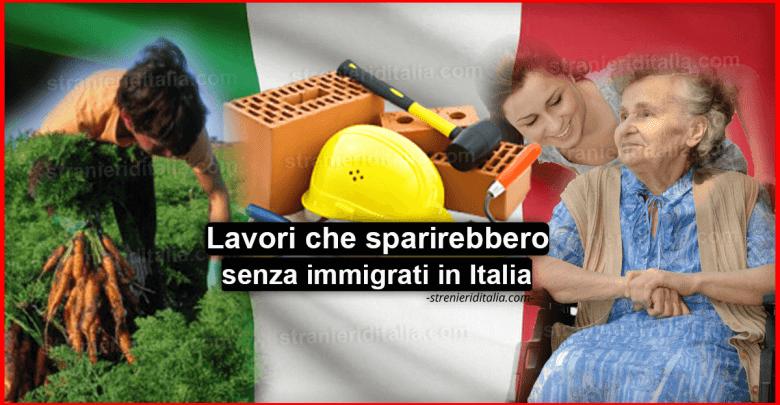 Lavori che sparirebbero senza immigrati: Colf, Muratori, Braccianti e altri...