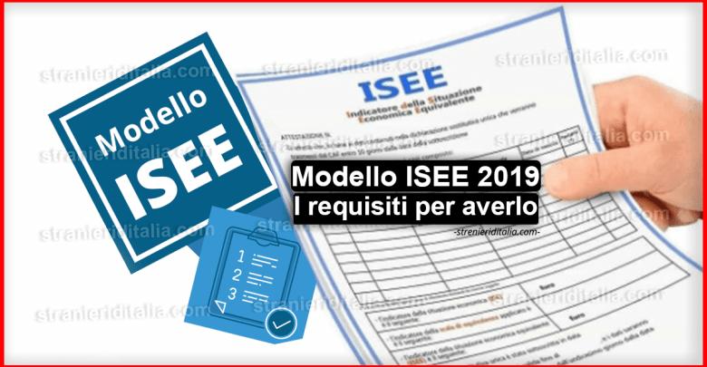 Modello ISEE 2019: come funziona e requisiti per averlo?