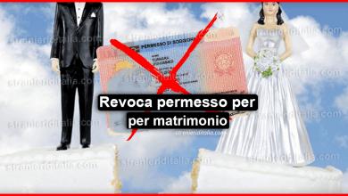 Photo of Revoca permesso per matrimonio : In quali casi avviene?