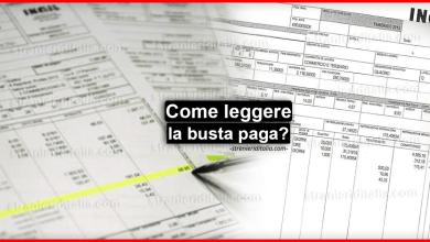 Photo of Come leggere la busta paga? Guida semplice 2020