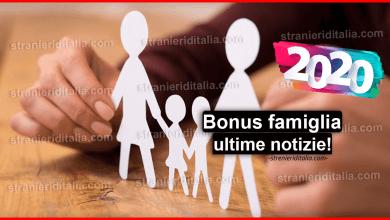 Photo of Bonus famiglia 2020: news assegni legge di bilancio