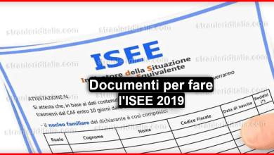 Photo of Documenti per l'ISEE 2019: tutto ciò che devi sapere!
