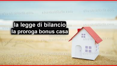 Photo of Legge di bilancio 2020: la proroga bonus casa
